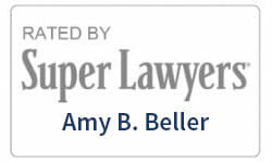 Super Lawyers Amy Beller badge